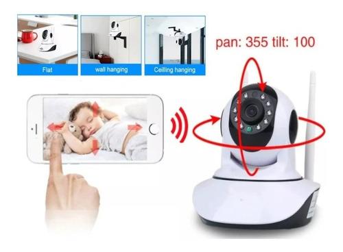 Cámara Bebe Inalámbrica Vigilancia Visión Nocturna Wifi Hd
