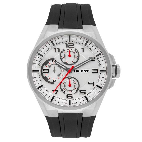 Relógio Orient Mbspm015 Masculino Sport Visor Prata