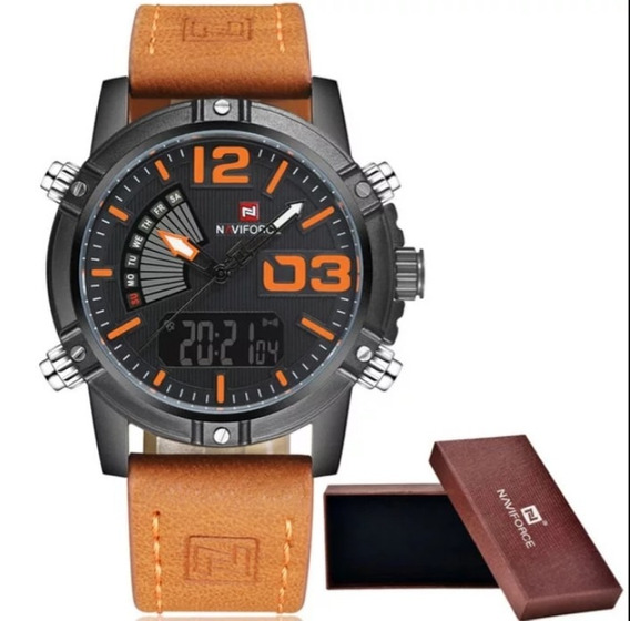 Relógio Naviforce Sport Luxo. ( Promoção)