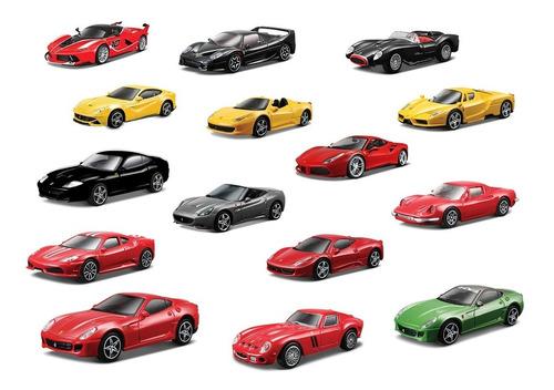 Imagen 1 de 10 de Clarín Colección Ferrari Gt Set 1 De 15 Autos