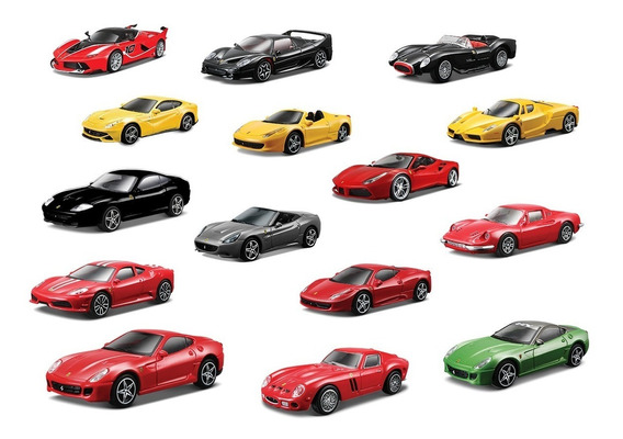 Clarín Colección Ferrari Gt Set 1 De 15 Autos