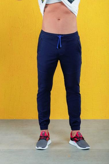Jogger Casual Para Caballero Azul Mystyx 8019