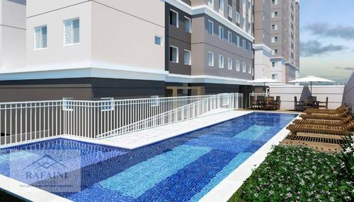 Apartamento Com 3 Dormitórios À Venda, 43 M² Por R$ 280.000,00 - Paulicéia - São Bernardo Do Campo/sp - Ap1003