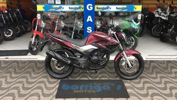 Yamaha Fazer 250cc 2016 Vermelha