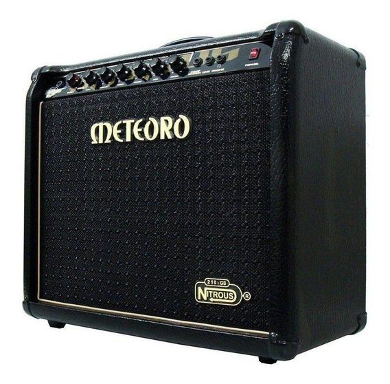Amplificador Meteoro Nitrous GS 100 100W transistor preto 110V/220V