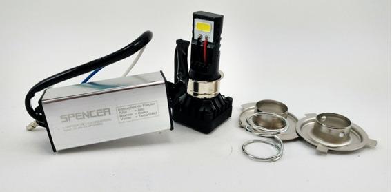 Lampada De Farol Moto H4 H6 M5 2 Leds Spencer Ybr 125 Factor 125 Factor 150 Fazer 150 Fazer 250 Xtz125 Crosser Lander