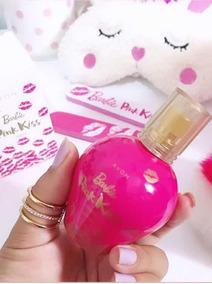 Perfume Colônia Barbie Pink Kiss Teens 50ml