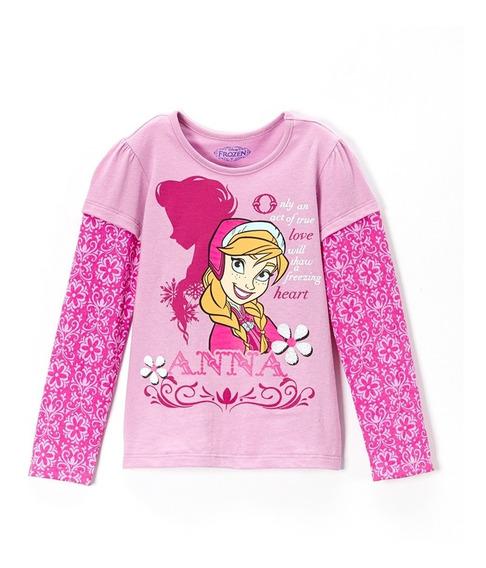 Playera Olaf Anna Elsa Frozen Disney Hermosa! Talla 4
