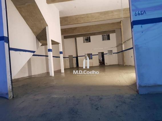 Galpão Para Alugar, 300 M² Por R$ 5.000,00/mês - Vila Nova Bonsucesso - Guarulhos/sp - Ga0154