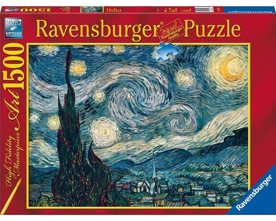 Noche Estrellada Van Gogh Rompecabezas 1500pz Ravensburger