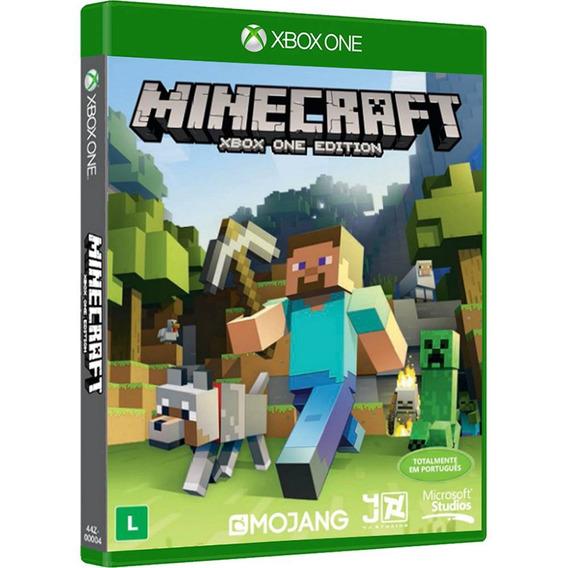 Jogo Novo Lacrado Minecraft Xbox One Edition Para Xbox One