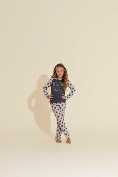 Pijama Longo 1/2 Malha - Ref. 14016