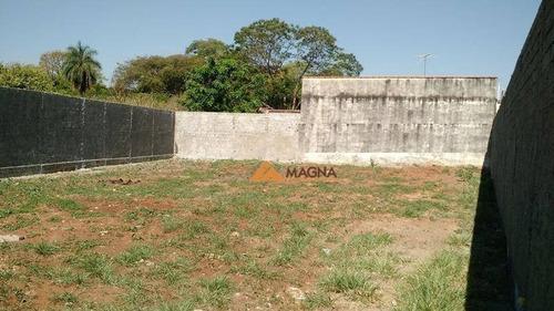 Terreno À Venda, 420 M² Por R$ 250.000,00 - Parque Residencial Lagoinha - Ribeirão Preto/sp - Te0992