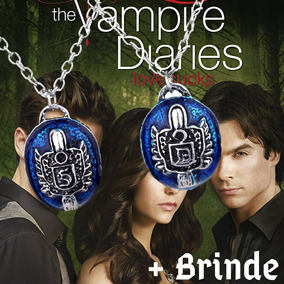 Colar Anel Damon Stefan Salvatore The Vampire Diaries Elena