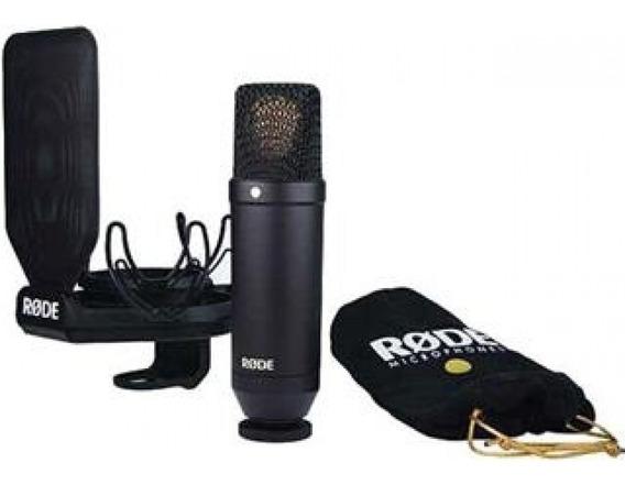 Rode Nt1 Kit Microfono De Estudio Con Suspensión Rycote Lyre