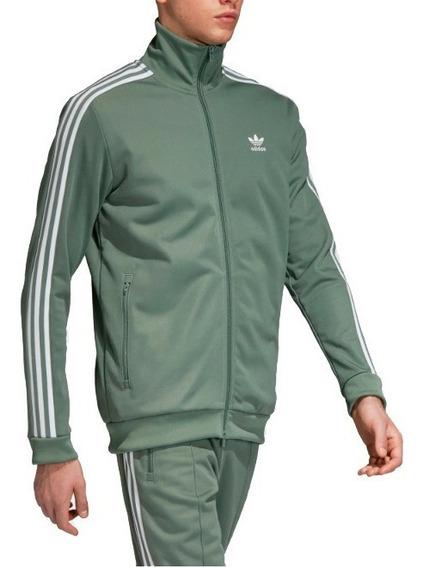 Chamarra adidas Originals Beckenbauer Track - Olivo -