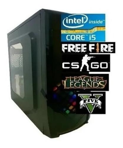 Imagem 1 de 2 de Cpu Pc Gamer Intel  Barato Core I5 3.2ghz 8gb Ssd240g 500wts