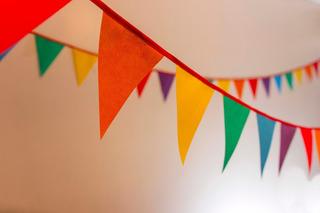 Banderines X 10mts! Decoracion Eventos, Locales Y Hogar!!!