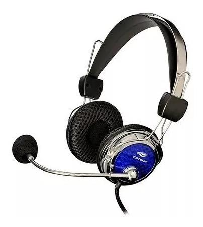 Headset Gamer C3tech Mi-2322rc Pterodax C/microfone
