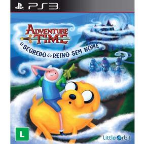 Adventure Time O Segredo Do Reino Sem Nome Ps3 Em Português