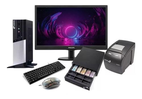 Pdv + Monitor + Impressora + Gaveta +teclado/mouse Bematech