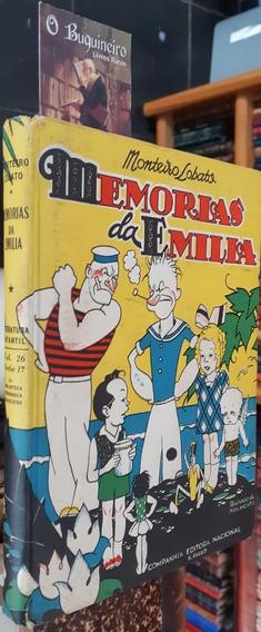 Memórias Da Emília - Monteiro Lobato - Autografado