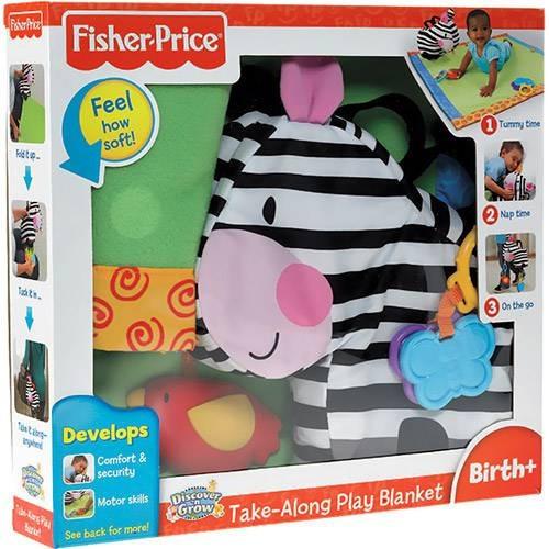 Tapete De Atividades Zoo Fisher Price