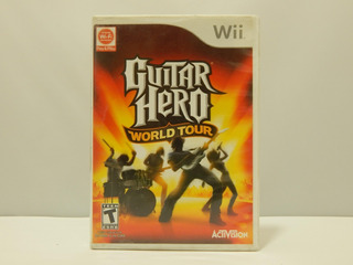 Guitar Hero: World Tour - Wii ¡fisico-usado!