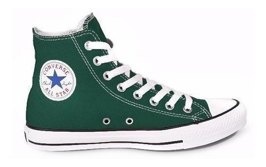 Zapatilla Converse All Star Hi Verde - Sagat Deportes