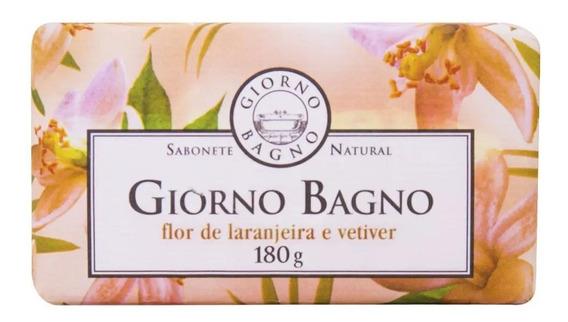 Sabonete Para Natural Giorno Bagno Flor De Laranjeira 180g.