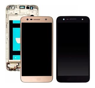 Frontal Display Tela Lcd Touch LG K10 Power M320tv Com Aro