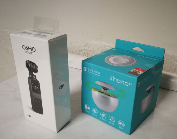 Dji Osmo Pocket 4k 60fps Gimbal + Brin Caixa Bluetooth