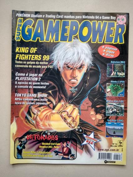 Revista Super Game Power 74 King Of Fighters Detonados D570