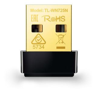Nano Adaptador Usb Wireless N150mbps Tl-wn725n - Nota Fisca