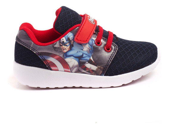 Zapatillas Atomik Marvel Fury Capitan-mvl004azu- Open Sports