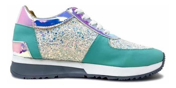 Zapato Tenis De Dama Increíble Estilo Casual Confort Total