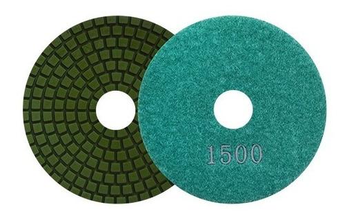 Pad De Diam Pulido Vlcro Color Verde Ag Austromex Aus2765