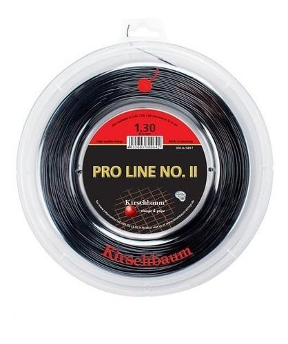 Cuerda De Tenis Kirschbaum Pro Line Ii 16 (1.30) Negro