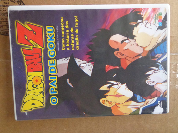 Dragon Ball Z O Pai De Goku Dvd Original $30 - Lote