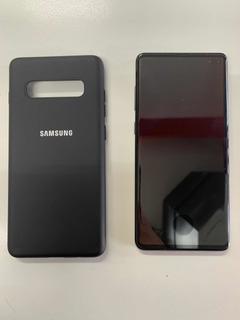 Samsung Galaxy S10+ Plus - 7 Días De Uso Con Funda Y Vidrio