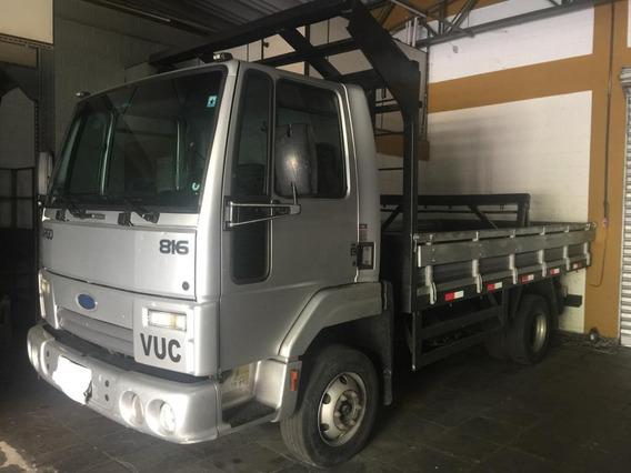 Cargo 816 Vuc Carroceria Ferro 4,2 M - Baixo Km - Unico Dono