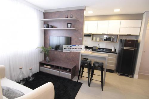 Apartamento Para Venda Em Santo André, Sacadura Cabral, 2 Dormitórios, 1 Banheiro, 1 Vaga - 12861_1-1608678