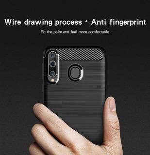 Funda Carbono+film Blindado Samsung Varios Modelos A Elegir