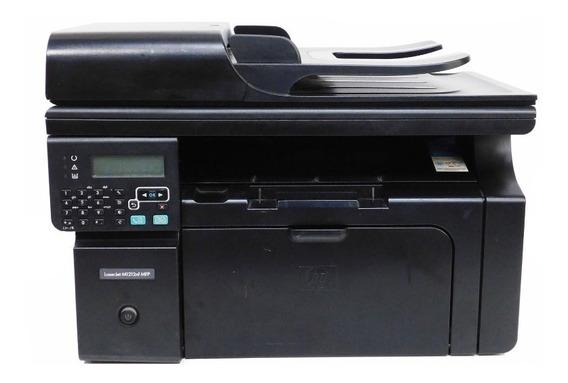 Impressora Hp Laserjet M1212nf Mfp Tonner Monocromática