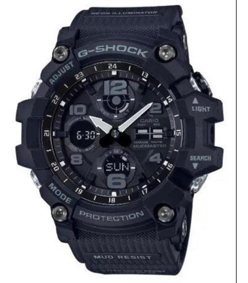 Relógio G-shock Gsg-100-1 Preto Solar Mudmaster