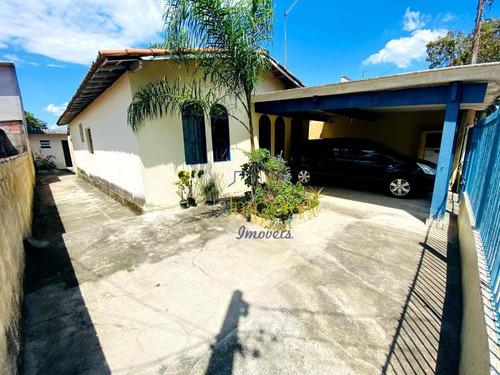 Casa Com 3 Dormitórios À Venda, 124 M² Por R$ 280.000,00 - Parque Novo Horizonte - São José Dos Campos/sp - Ca0452