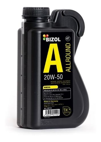 Imagen 1 de 4 de Aceite Mineral 20w-50 - Bizol (1 Litro)