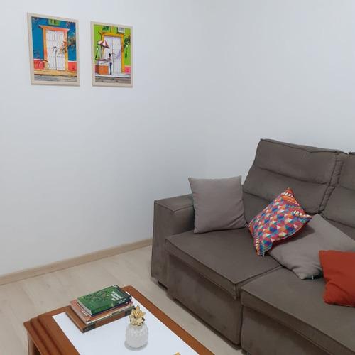 Imagem 1 de 14 de Kitnet Com 1 Dorm, Cozinha Planejada Toda Reformada S/gar