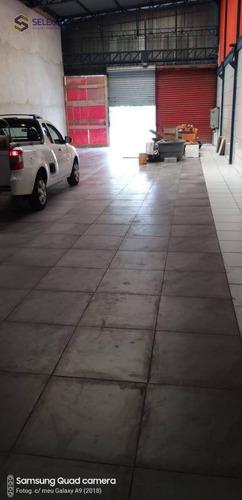 Salão Para Alugar, 400 M² Por R$ 10.000,00/mês - Jardim Bela Vista - Santo André/sp - Sl0020