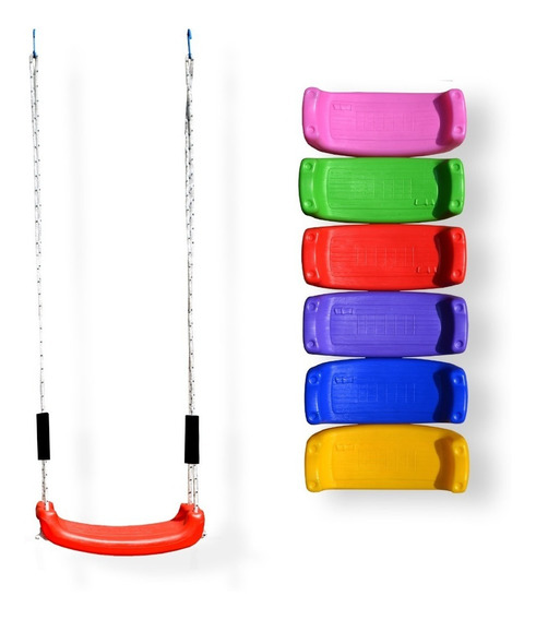 Hamacas Infantiles Tabla Colgante Tablita Vs Colores (750)